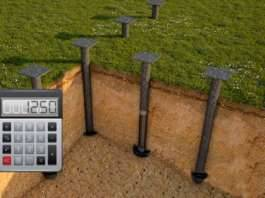 Калькулятор расчета несущей способности винтовых свай