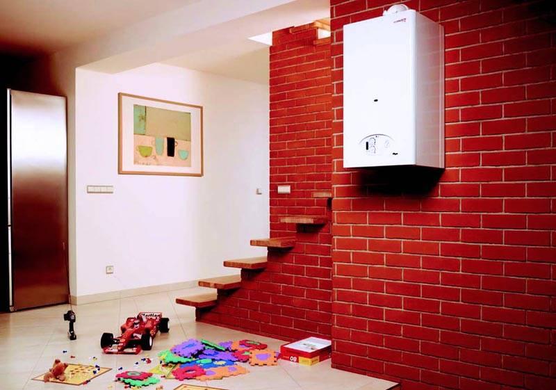 С такой системой можно спокойно оставить дом без присмотра. Автоматика на газовых приборах настолько совершенна, что не допустит никаких сбоев