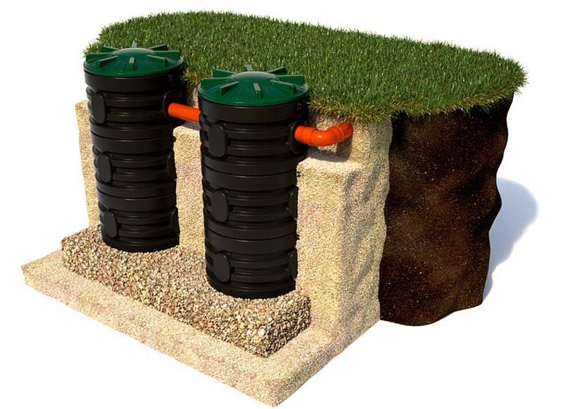 Даже прокладка канализации не нарушит гармонии на приусадебном участке