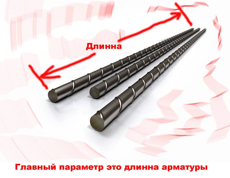 Длина по стандарту составляет 6 м