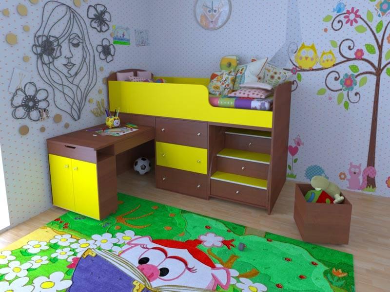 Это и есть кровать «Ярофф Малыш»