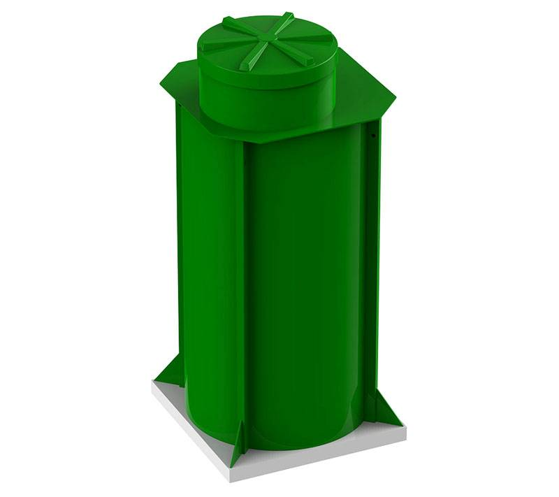 Пластиковые кессоны для погреба выпускают в нескольких определенных размерах. Не получится изменить длину и ширину произвольным образом, если имеются соответствующие потребности