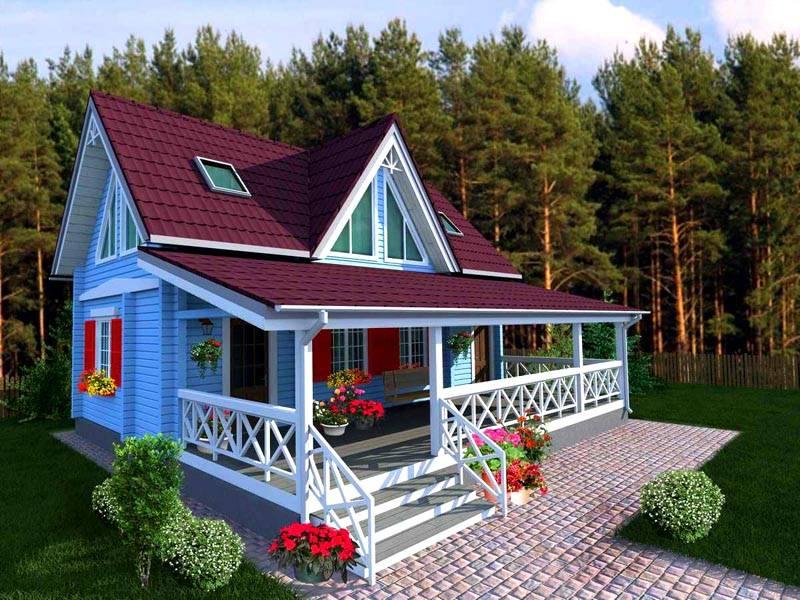 Из чего сделать пристройку к деревянному дому