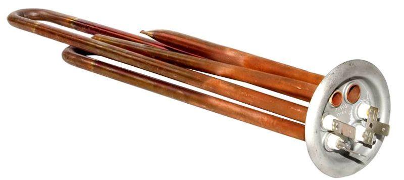 Скорость нагрева воды в баке зависит и от мощности и площади ТЭНа