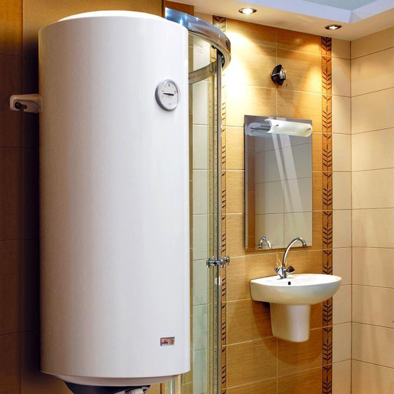 В квартирах бойлер в основном ставят в санузлах и ванных комнатах