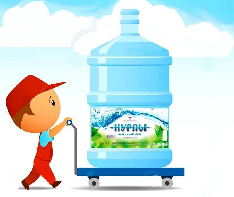 Доставка питьевой воды лишена недостатков только на рекламных плакатах