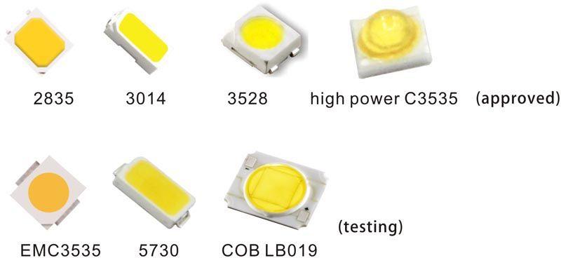 Ассортимент SMD-светодиодов – это лишь их малая часть