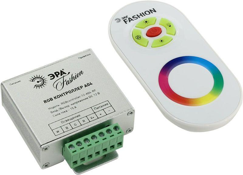 А так выглядит недорогой RGB-контроллер для многоцветных полос