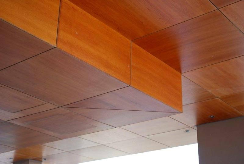 Ламинированные плиты для потолка