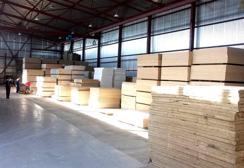 Древесно – волокнистые плиты на производстве