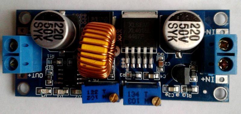 Такой стабилизатор для светодиодов можно заказать в интернете