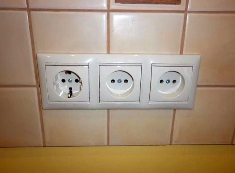 Электроарматура в ванной комнате должна иметь определенный класс защиты