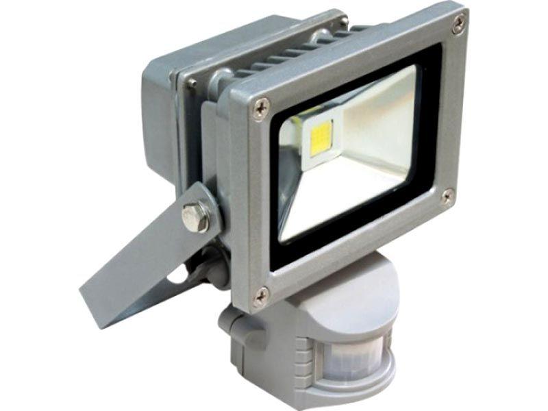 Прожектор на светодиодах с датчиком движения – удобно и экономично