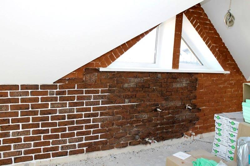 Из сравнительно небольших изделий можно создавать сложные формы оконных проемов, арки, изогнутые стены
