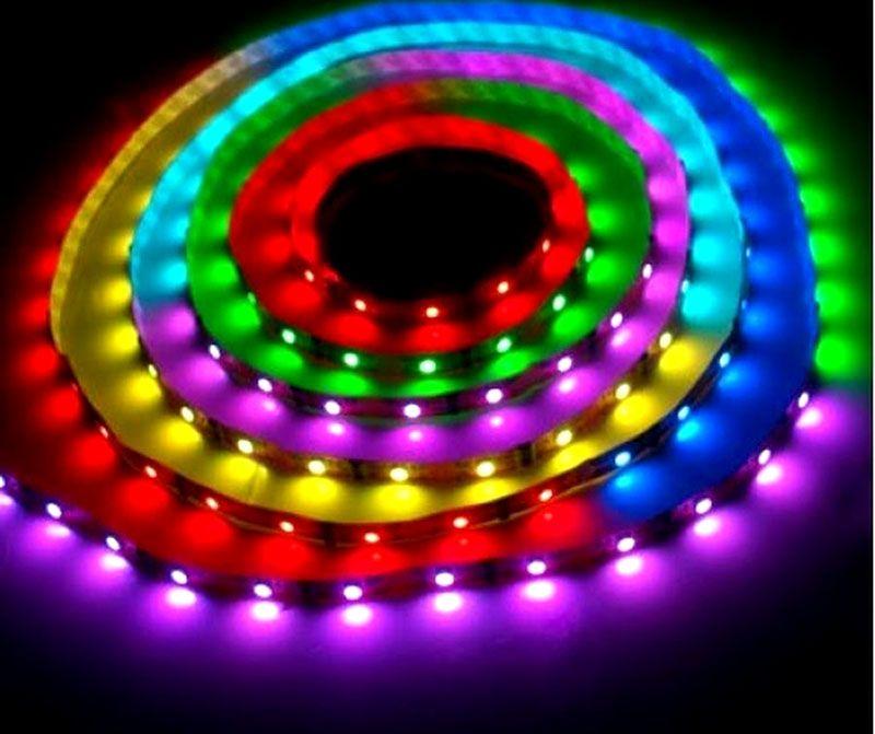 Многоцветные светодиодные ленты сейчас очень востребованы