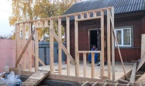 Пристройка к деревянному дому: проекты, строительные технологии, выбор оптимального варианта