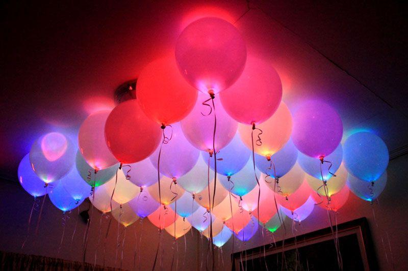 Удивительное оформление праздника при помощи светодиодов