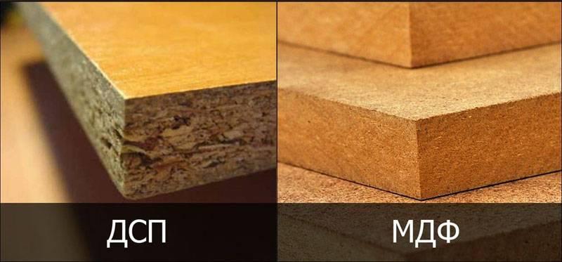 Отличия в структуре материалов