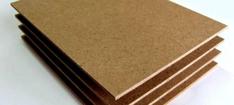 Сверхтвердый древесно-волокнистый лист