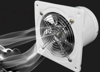 Бесшумный вентилятор в ванную комнату