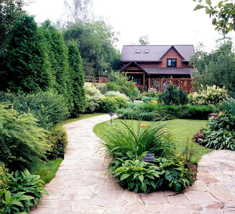 Ландшафтный дизайн дачного участка: фото