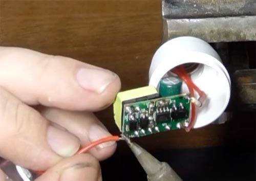 Ремонт светодиодных ламп своими руками: пособие домашнему мастеру