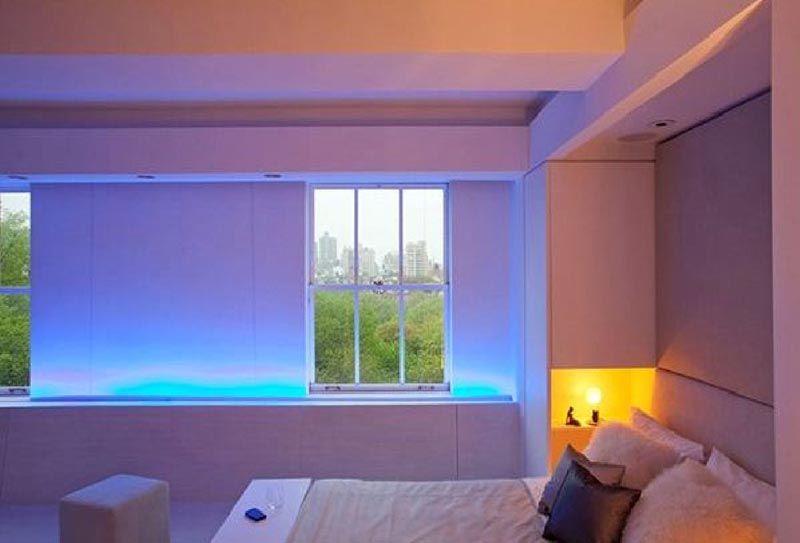 Несколько светодиодных ламп преобразят интерьер до неузнаваемости, но в лучшую сторону