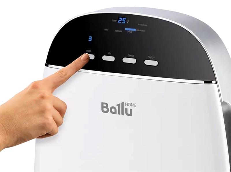 Ballu AP-155: качественная очистка воздуха в квартире без лишних затрат