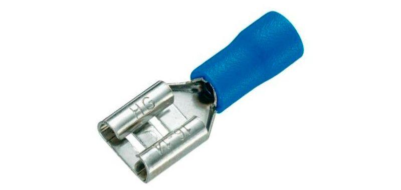 Ножевыеклеммы для проводов обжимныеможно отсоединять от контакта для проверки цепей, иных диагностических операций