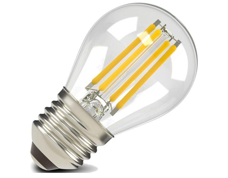 Филаментные лампы – новинка на рынке. Они ремонту не подлежат