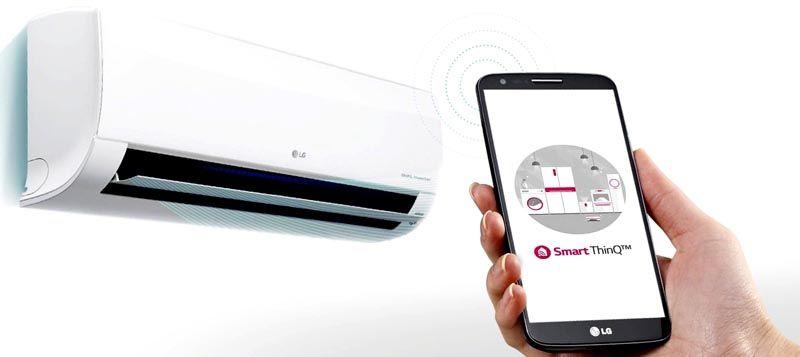 Встроенный электронный блок обеспечивает возможность удаленного управления техникой по каналу Wi-Fi