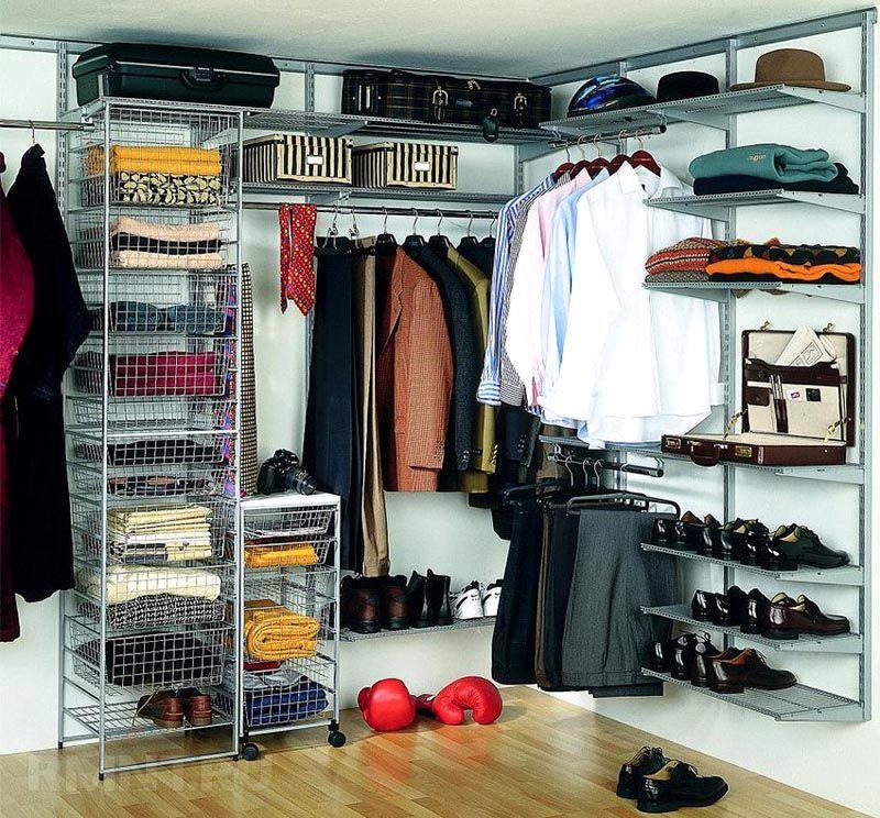 Специальные компоненты и приспособления помогут организовать хранение с учетом индивидуальных потребностей