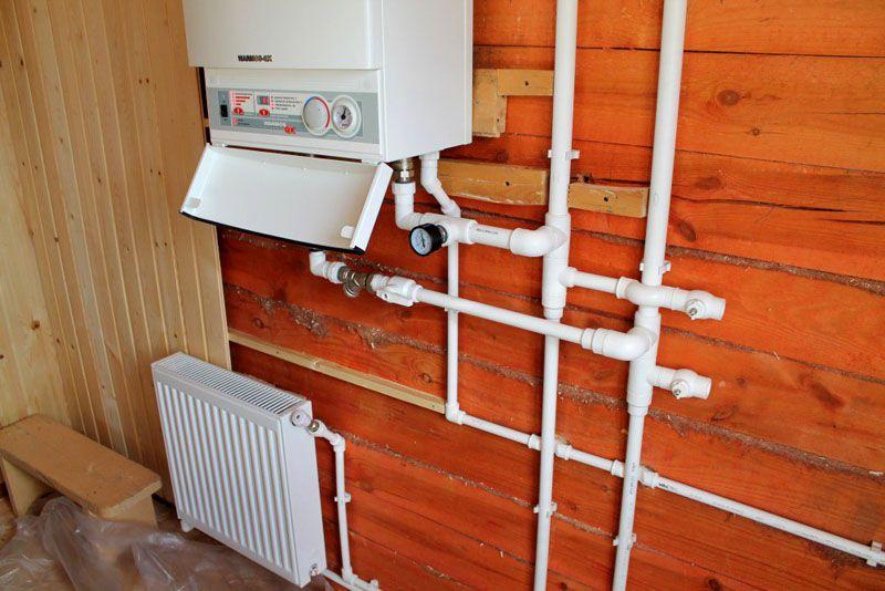 Отопление в доме своими руками из полипропилена