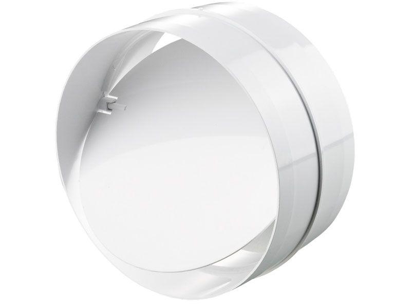 Гравитационный обратный клапан в круглом корпусе