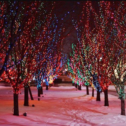 Создаем сказку и новогоднее настроение: уличные морозостойкие светодиодные гирлянды