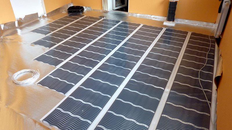 Не стоит стелить сплошное покрытие для двух и более помещений с разным температурным режимом. Для каждой комнаты нужно подбирать систему определенной мощности