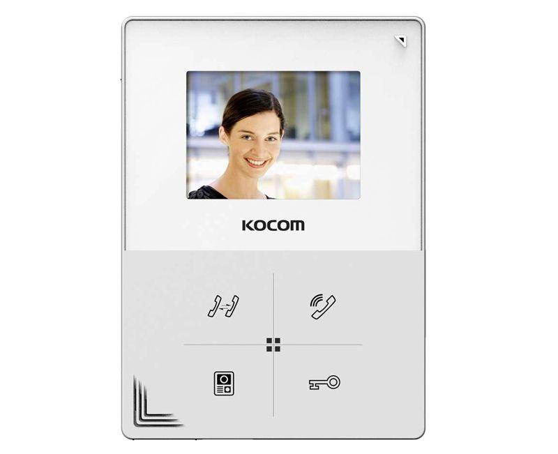 Экран Kocom KCV-401EV действительно маловат