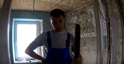 Перегородки из гипсокартона своими руками: пошаговая инструкция от А до Я