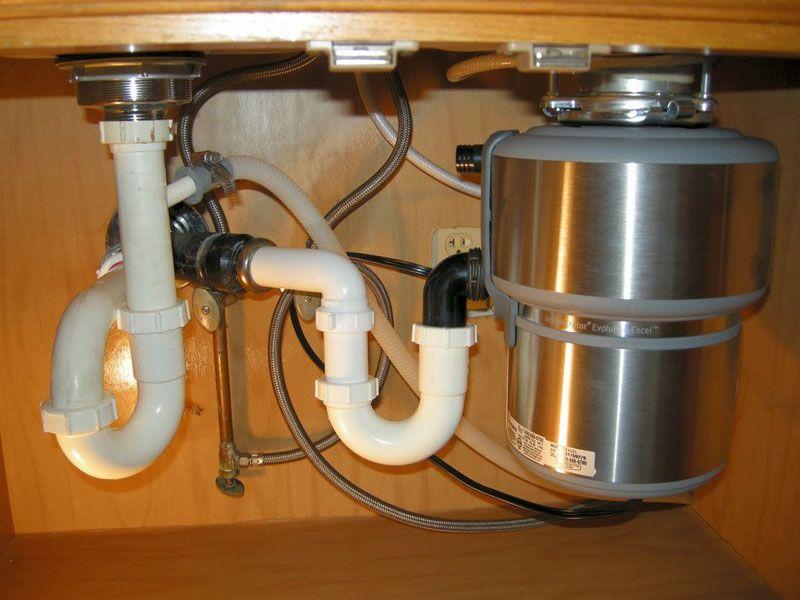 Виды сифонов для раковины на кухне