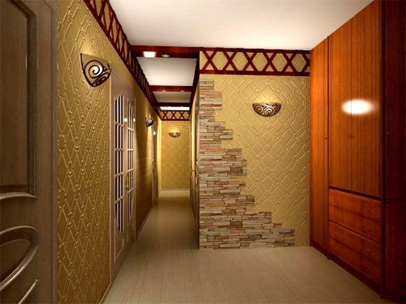 Стены можно подвергать влажной чистке