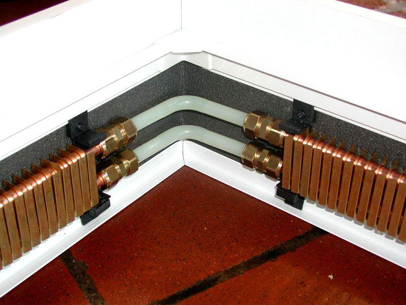 Плинтусные схемы имеют ограничения по монтажу