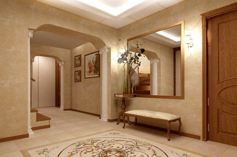 Итальянский классический стиль предполагает использование светлых оттенков