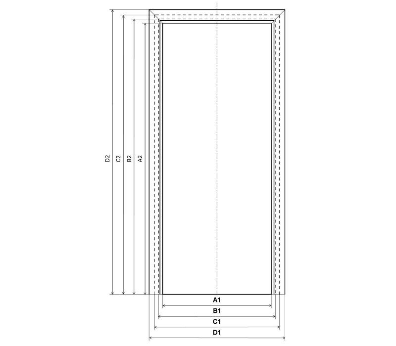 стандартные размеры межкомнатных дверей по госту