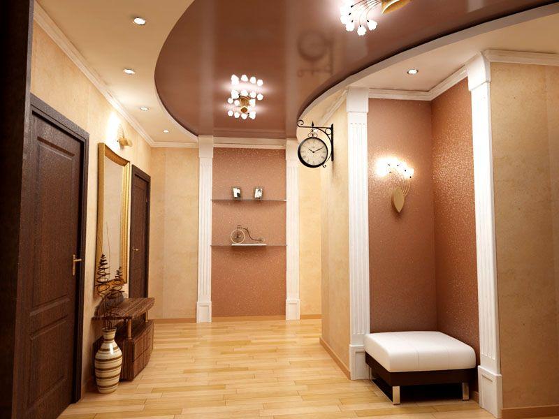 Гладкий потолок без особых усилий