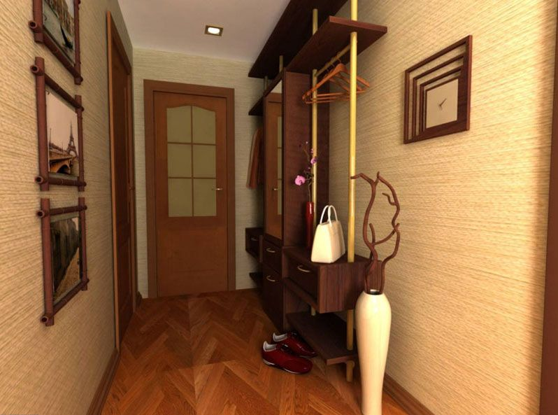 Шкаф-купе может использоваться для зонирования пространства