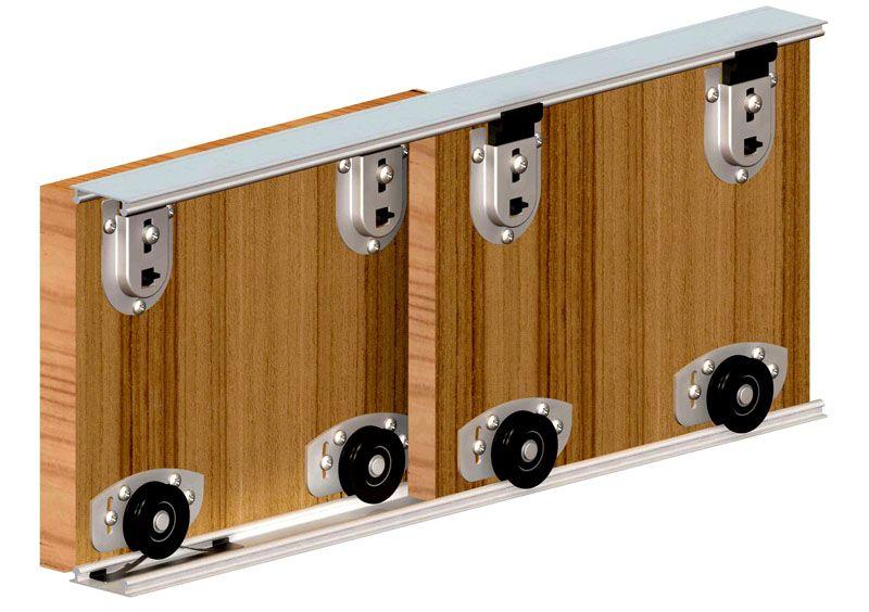 Самый простой раздвижной механизм для шкафа-купе