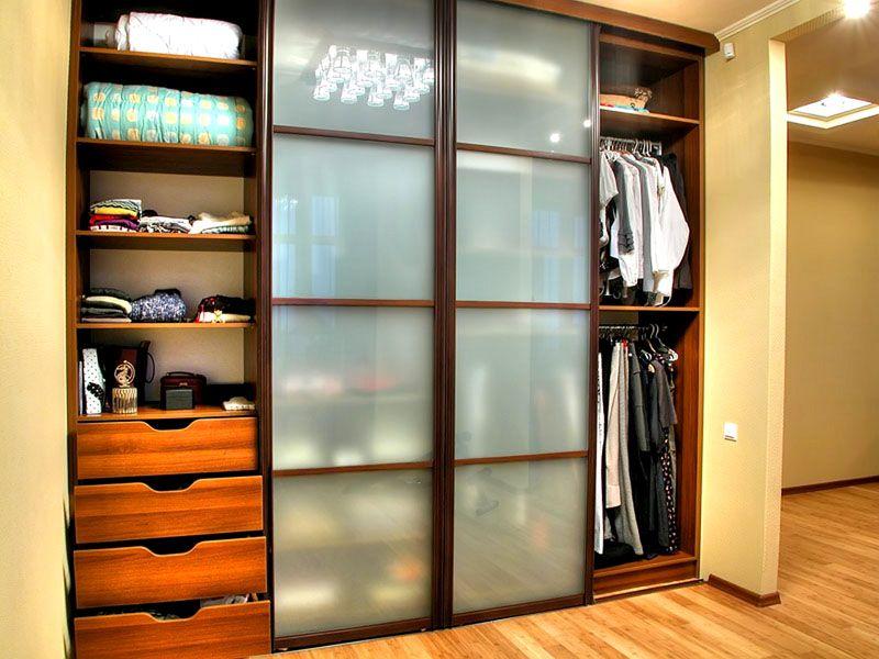 Вместимость один из важных факторов при выборе шкафа-купе