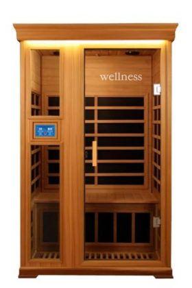 Двухместная модель Wellness LH902D (отделка кедр)