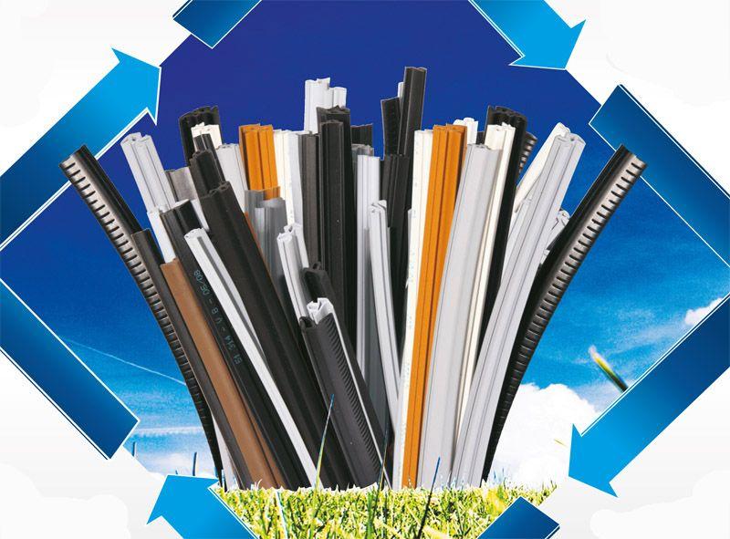 Цветные уплотнители из EPDM хороши для окрашенных и ламинированных окон