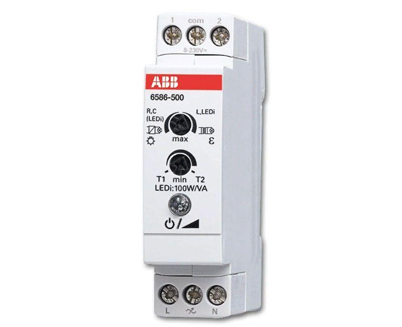 Модульный диммер для светодиодных ламп 220 В предназначен для установки на стандартных монтажных планках